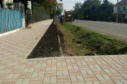 Doi ofertanţi pentru modernizarea trotuarelor de pe strada Lungă din Ocna Mureş