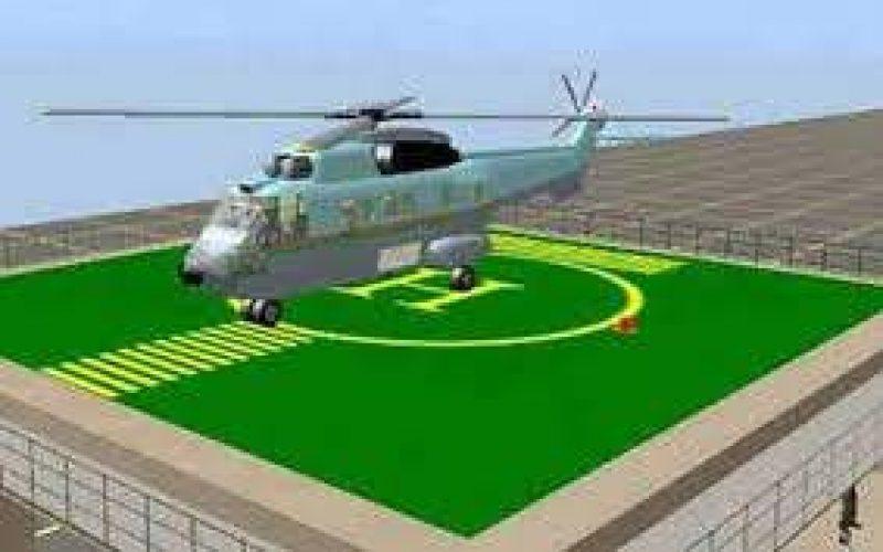 Heliportul preconizat a se construi în Blaj va costa în jur de 3 mil. lei