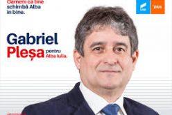 Gabriel Pleşa: Voi face un audit, odată ajuns la Primărie, pentru că mi se pare normal să văd ce preiau