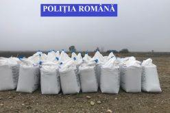 Dosar penal după descoperirea a circa 23 tone de îngrăşăminte chimice depozitate neprotejat
