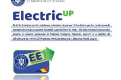 """Ghidul Programului """"Electric Up"""" a fost finalizat"""