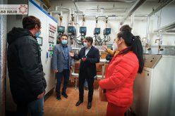 Recepţia lucrărilor efectuate pentru reabilitarea termică a Liceului Sportiv din Alba Iulia
