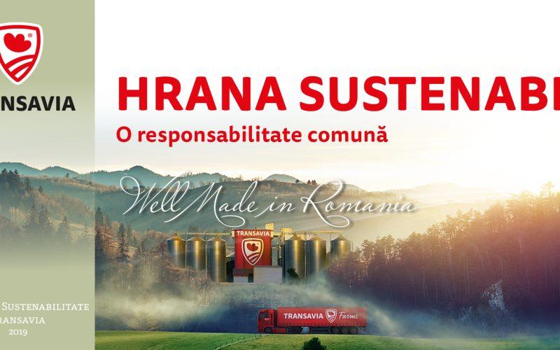 Primul raport de sustenabilitate din industria alimentară, prezentat de TRANSAVIA