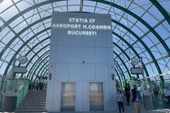4 lei, preţul unui bilet cu trenul de la Aeroportul Otopeni la Gara de Nord; trenul circulă 24/24 ore