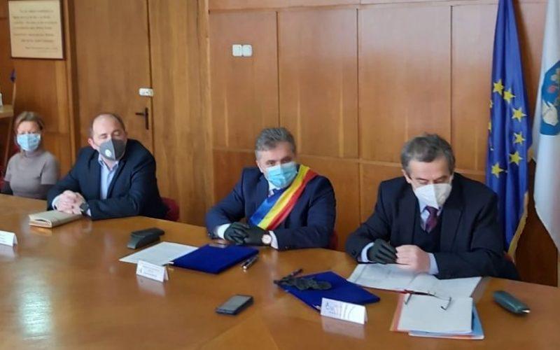 Nou contract de finanţare semnat de ADR Centru: peste 5,6 mil.euro pentru un proiect al administraţiei din Mediaş